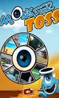 Screenshot of Monster Toss Free