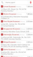Screenshot of i Eczane