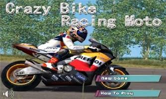 Screenshot of Crazy Bike Racing Moto