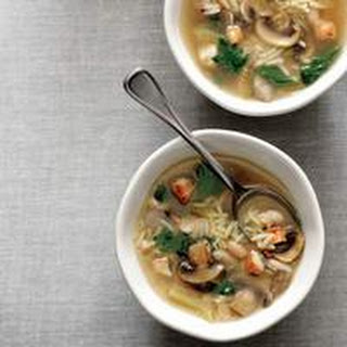 Chicken-and-Orzo Soup