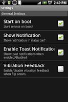 Screenshot of Shake - Flashlight