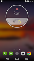 Screenshot of MotoWeather Zooper Skin