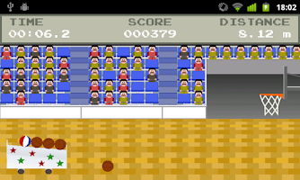 Screenshot of Retro Basketball