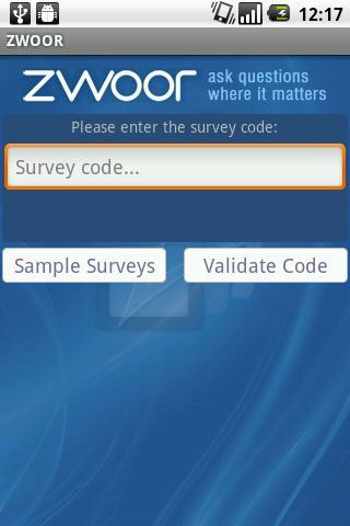 Zwoor Survey