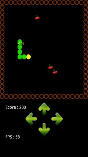 snake for android screenshot