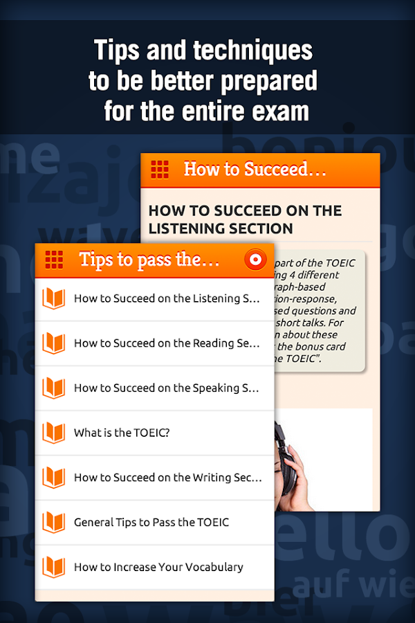 Learn TOEIC Vocabulary Screenshot 2