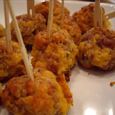 Make-Ahead Bisquick Sausage Ball Appetizers