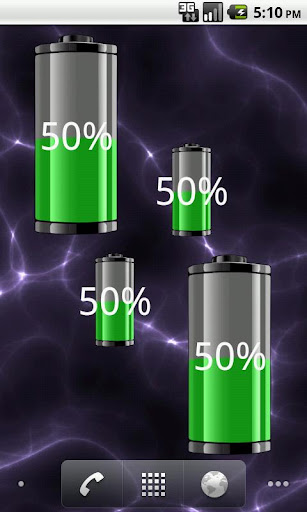 Battery Solo Widget Pro - DownloadAtoZ