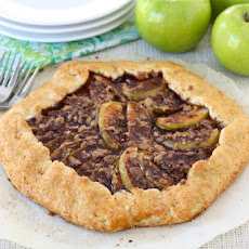 Apple Toffee Galette
