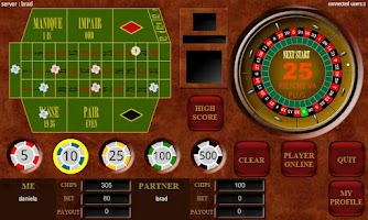 Screenshot of Roulette Multiplayer