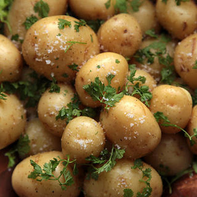 Chervil and Butter New Potatoes