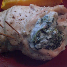 Spinach-Ricotta Rolled Turkey Breasts