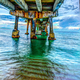 Under the Pier by Matthew Haines - Buildings & Architecture Bridges & Suspended Structures