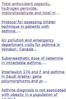Screenshot of Asthma