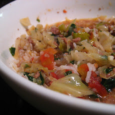 Crock Pot Stuffed Cabbage Soup