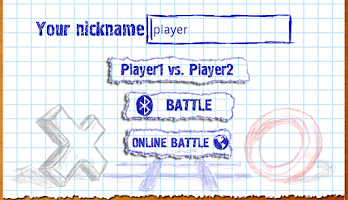 Screenshot of TicTacToe Online