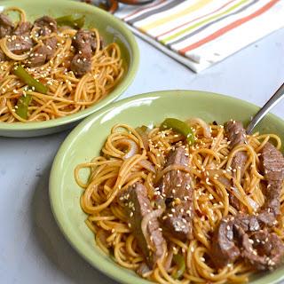 Pepper Steak Lo Mein Recipes