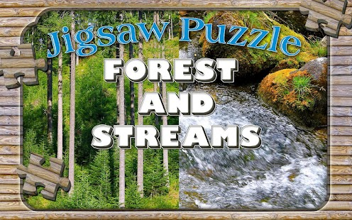 Forest Jigsaw Puzzles Game - screenshot
