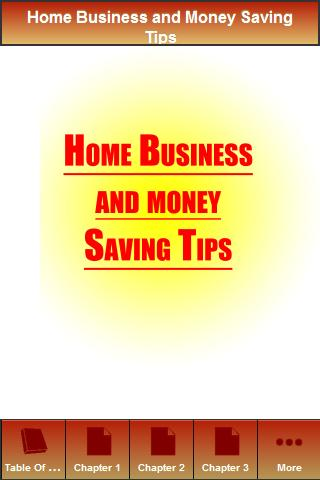 How to Save Money in Home Busi