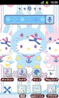 Screenshot of HELLO KITTY Theme50