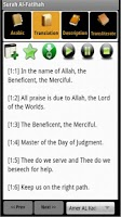 Screenshot of Quran Toolkit