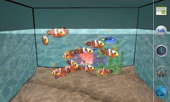 Screenshot of 3D Aquarium LWP
