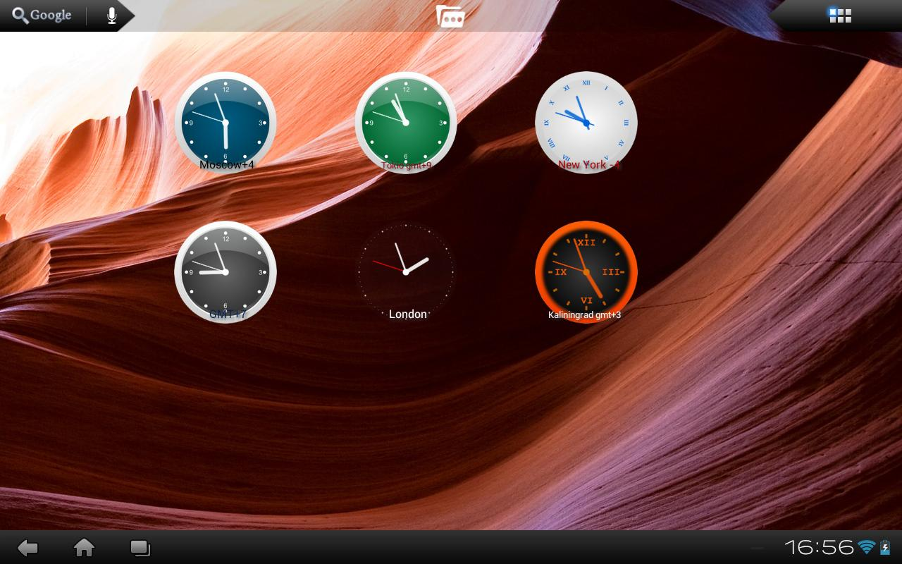 Clock Live Wallpaper Screenshot 0