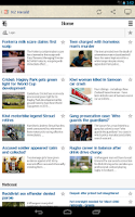 Screenshot of New Zealand Newspapers