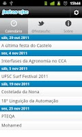 Screenshot of Festas UFSC