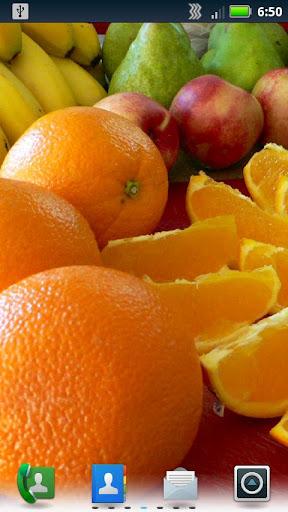 おいしいフルーツの壁紙をライブ