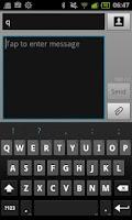 Screenshot of Portuguse for ICS keyboard