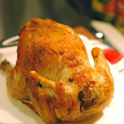 Roast Chicken with Paprika & Shallots