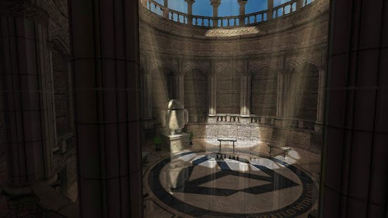Sky Castle 3D Graphics Demo - screenshot