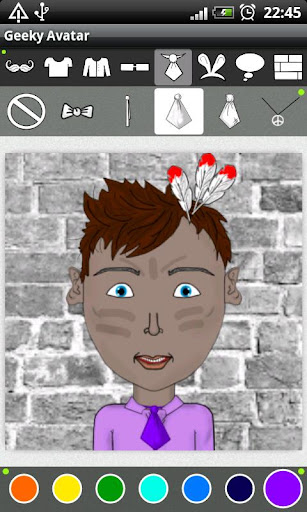 【免費娛樂App】Geeky Avatar-APP點子