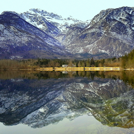 Reflection of the Alps by Branko Cesnik - Instagram & Mobile Other