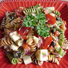Pasta Salad with Homemade Dressing