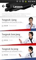 Screenshot of Taekwondo.Lesson
