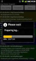 Screenshot of Log Viewer (logcat)