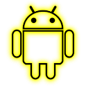 GloWorks Yellow ADW Theme icon