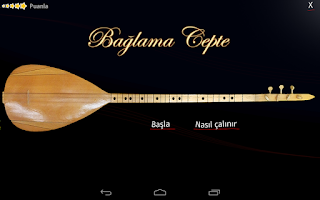 Screenshot of Baglama-Saz