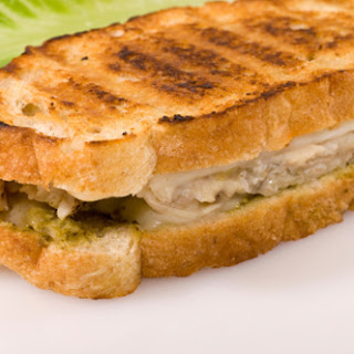 Gluten Free Chicken Pesto Sandwiches