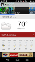 Screenshot of KGW Portland News and Weather