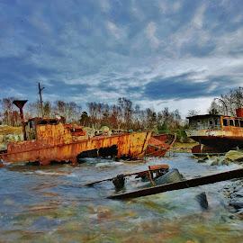 by Jenny Burängen - Transportation Boats