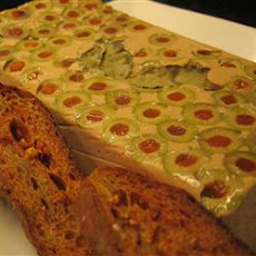 Tuna Mousse Terrine with Olives