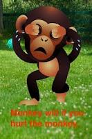 Screenshot of Talking Baby Monkey