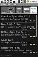 Screenshot of Local Search