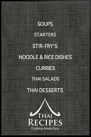 Thai Recipes-Cooking Made Easy