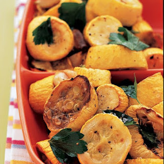 Roasted Yellow Squash Salad