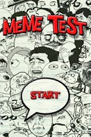 Screenshot of Meme Test, Which meme are you?