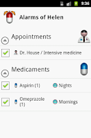Screenshot of Pill App